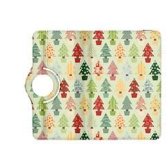Christmas Tree Pattern Kindle Fire Hdx 8 9  Flip 360 Case by Valentinaart