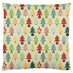 Christmas Tree Pattern Standard Flano Cushion Case (two Sides) by Valentinaart