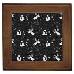 Christmas pattern Framed Tiles
