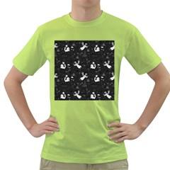 Christmas pattern Green T-Shirt