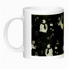 Christmas pattern Night Luminous Mugs