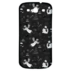 Christmas pattern Samsung Galaxy S3 S III Classic Hardshell Back Case
