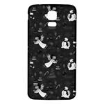 Christmas pattern Samsung Galaxy S5 Back Case (White)