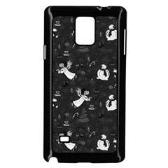 Christmas pattern Samsung Galaxy Note 4 Case (Black)
