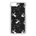 Christmas pattern Apple iPhone 7 Seamless Case (White)