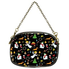 Christmas Pattern Chain Purses (one Side)