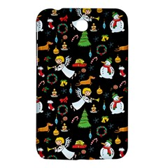 Christmas Pattern Samsung Galaxy Tab 3 (7 ) P3200 Hardshell Case  by Valentinaart