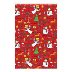 Christmas Pattern Shower Curtain 48  X 72  (small)  by Valentinaart