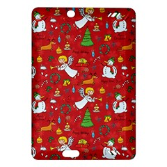 Christmas Pattern Amazon Kindle Fire Hd (2013) Hardshell Case by Valentinaart