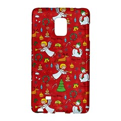 Christmas Pattern Galaxy Note Edge by Valentinaart