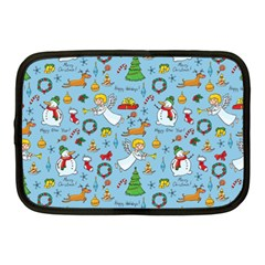 Christmas Pattern Netbook Case (medium)  by Valentinaart