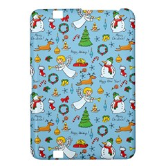 Christmas Pattern Kindle Fire Hd 8 9  by Valentinaart