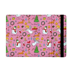 Christmas Pattern Apple Ipad Mini Flip Case by Valentinaart
