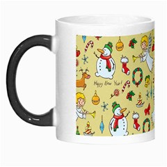 Christmas Pattern Morph Mugs by Valentinaart