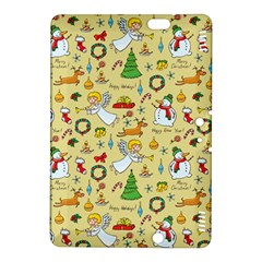 Christmas Pattern Kindle Fire Hdx 8 9  Hardshell Case by Valentinaart