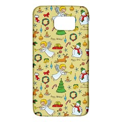 Christmas Pattern Galaxy S6 by Valentinaart