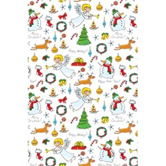 Christmas Pattern 5 5  X 8 5  Notebooks by Valentinaart