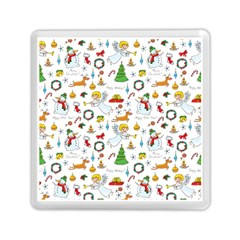 Christmas Pattern Memory Card Reader (square)  by Valentinaart