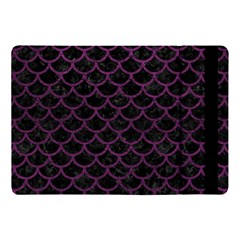 Scales1 Black Marble & Purple Leather (r) Apple Ipad Pro 10 5   Flip Case by trendistuff