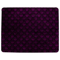 Scales2 Black Marble & Purple Leather Jigsaw Puzzle Photo Stand (rectangular) by trendistuff