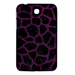 Skin1 Black Marble & Purple Leather Samsung Galaxy Tab 3 (7 ) P3200 Hardshell Case  by trendistuff