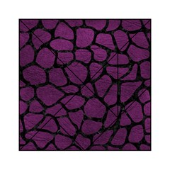 Skin1 Black Marble & Purple Leather (r) Acrylic Tangram Puzzle (6  X 6 ) by trendistuff