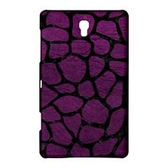 Skin1 Black Marble & Purple Leather (r) Samsung Galaxy Tab S (8 4 ) Hardshell Case  by trendistuff