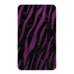 Skin3 Black Marble & Purple Leather (r) Memory Card Reader by trendistuff