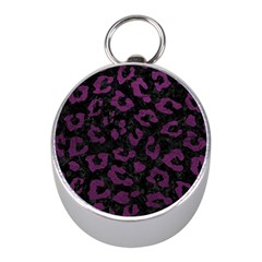 Skin5 Black Marble & Purple Leather Mini Silver Compasses by trendistuff
