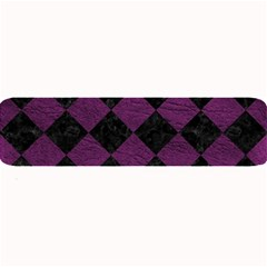 Square2 Black Marble & Purple Leather Large Bar Mats by trendistuff
