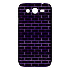 Brick1 Black Marble & Purple Watercolor (r) Samsung Galaxy Mega 5 8 I9152 Hardshell Case  by trendistuff
