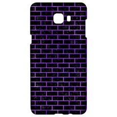 Brick1 Black Marble & Purple Watercolor (r) Samsung C9 Pro Hardshell Case  by trendistuff