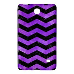 Chevron3 Black Marble & Purple Watercolor Samsung Galaxy Tab 4 (8 ) Hardshell Case  by trendistuff