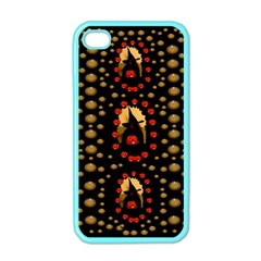 Pumkin Witch In Candles And White Magic Apple Iphone 4 Case (color) by pepitasart