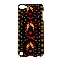 Pumkin Witch In Candles And White Magic Apple Ipod Touch 5 Hardshell Case by pepitasart