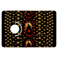 Pumkin Witch In Candles And White Magic Kindle Fire Hdx Flip 360 Case by pepitasart