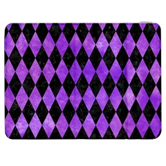 Diamond1 Black Marble & Purple Watercolor Samsung Galaxy Tab 7  P1000 Flip Case by trendistuff