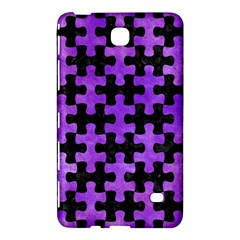 Puzzle1 Black Marble & Purple Watercolor Samsung Galaxy Tab 4 (8 ) Hardshell Case  by trendistuff