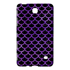 Scales1 Black Marble & Purple Watercolor (r) Samsung Galaxy Tab 4 (7 ) Hardshell Case  by trendistuff