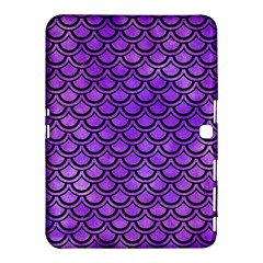 Scales2 Black Marble & Purple Watercolor Samsung Galaxy Tab 4 (10 1 ) Hardshell Case  by trendistuff