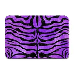 Skin2 Black Marble & Purple Watercolor Plate Mats by trendistuff
