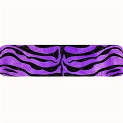 Skin2 Black Marble & Purple Watercolor Large Bar Mats by trendistuff
