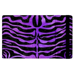 Skin2 Black Marble & Purple Watercolor (r) Apple Ipad Pro 9 7   Flip Case by trendistuff
