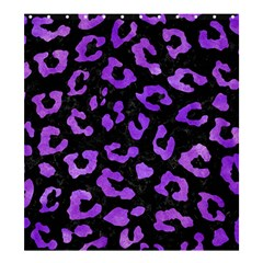 Skin5 Black Marble & Purple Watercolor Shower Curtain 66  X 72  (large)  by trendistuff