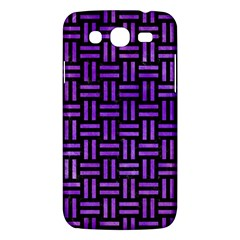Woven1 Black Marble & Purple Watercolor (r) Samsung Galaxy Mega 5 8 I9152 Hardshell Case  by trendistuff