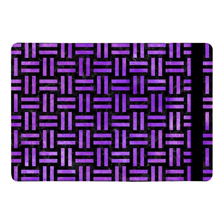 WOVEN1 BLACK MARBLE & PURPLE WATERCOLOR (R) Apple iPad Pro 10.5   Flip Case