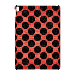 Circles2 Black Marble & Red Brushed Metal Apple Ipad Pro 10 5   Hardshell Case by trendistuff