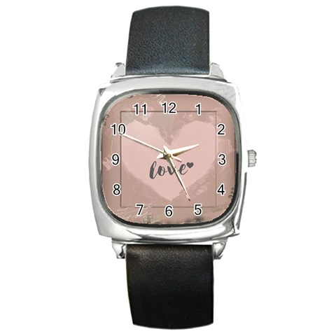 By Jpcool79   Square Metal Watch   U0s37rn0mdp4   Www Artscow Com Front