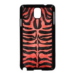 Skin2 Black Marble & Red Brushed Metal (r) Samsung Galaxy Note 3 Neo Hardshell Case (black) by trendistuff
