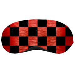 Square1 Black Marble & Red Brushed Metal Sleeping Masks by trendistuff